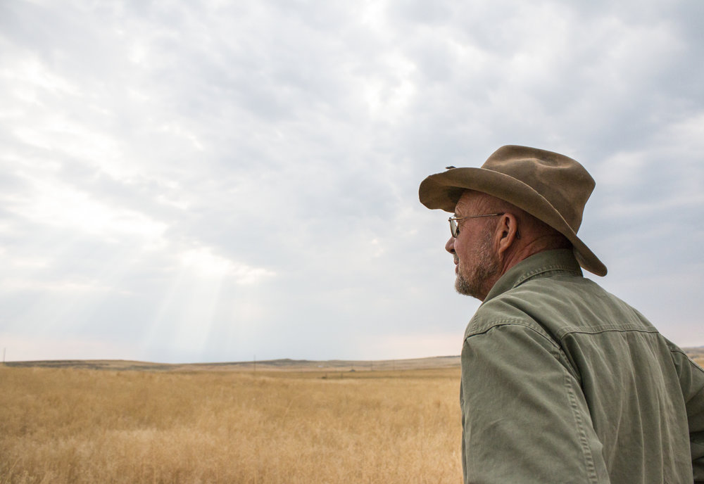 """""""Ranching is just always a learning process and there's so much potential for what agriculture can do. I just feel really fortunate to be able to be involved in that on a daily basis – to get these ideas and then to carry them out,"""" said Steve."""