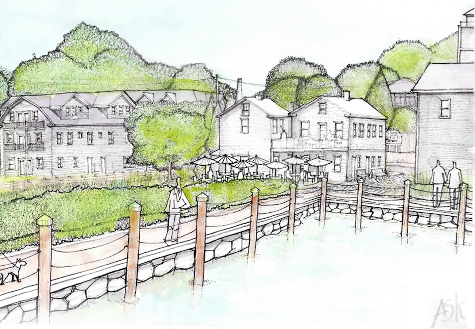 Planned Boardwalk Expansion to Rear of Property