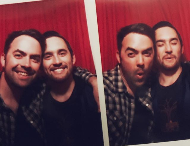 Brothers first photo booth. 📸