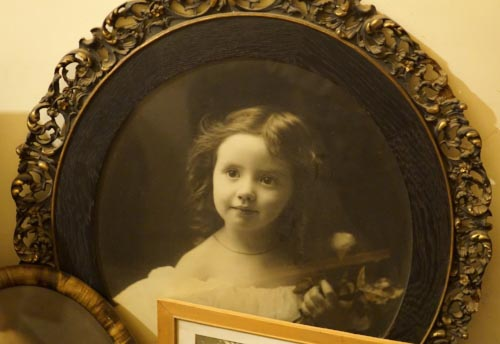 A photo of Emelita Cohen as a child. She lived in the house for 90 years until her death in 1988. ( JS )