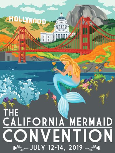 Photo:  The California Mermaid Convention