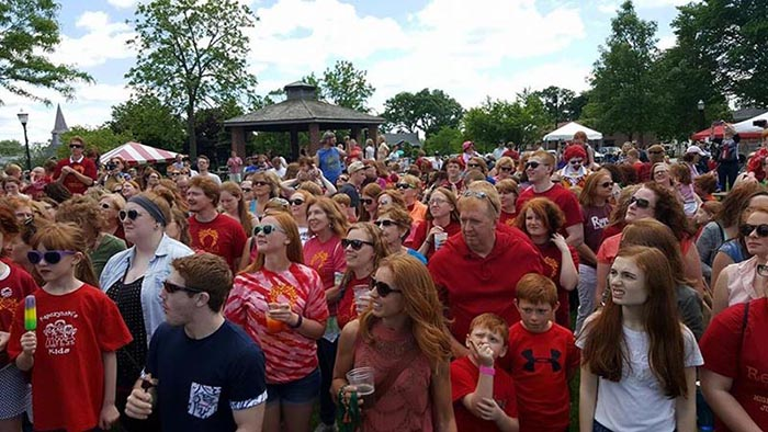 Photo:  Redhead Days Festival Facebook