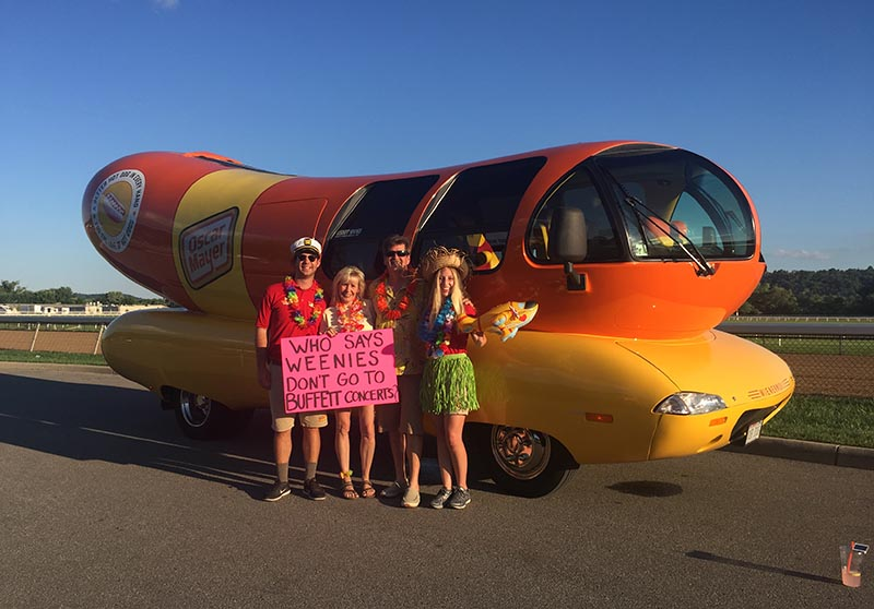 You get used to being stopped for photo-opps as a Hotdogger. ( Dominic Ricci )
