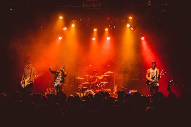 Where would you like to see us play next? 🤘🏼🔥🌴 PC: @mikedanenberg
