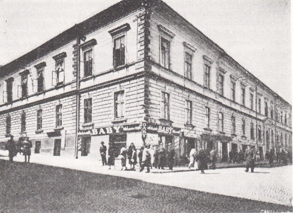 The Austrio-Hungarian 1st Gymnasium Czernowitz, founded in 1808