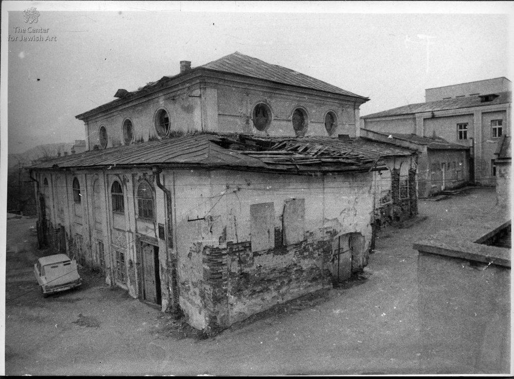 synagogue in 1992
