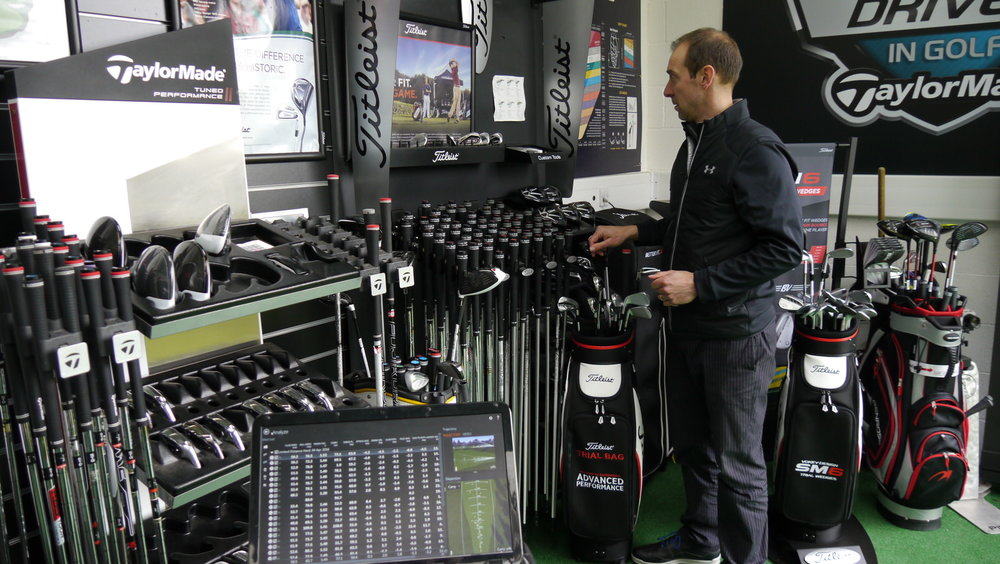 Golf Fitting Bay