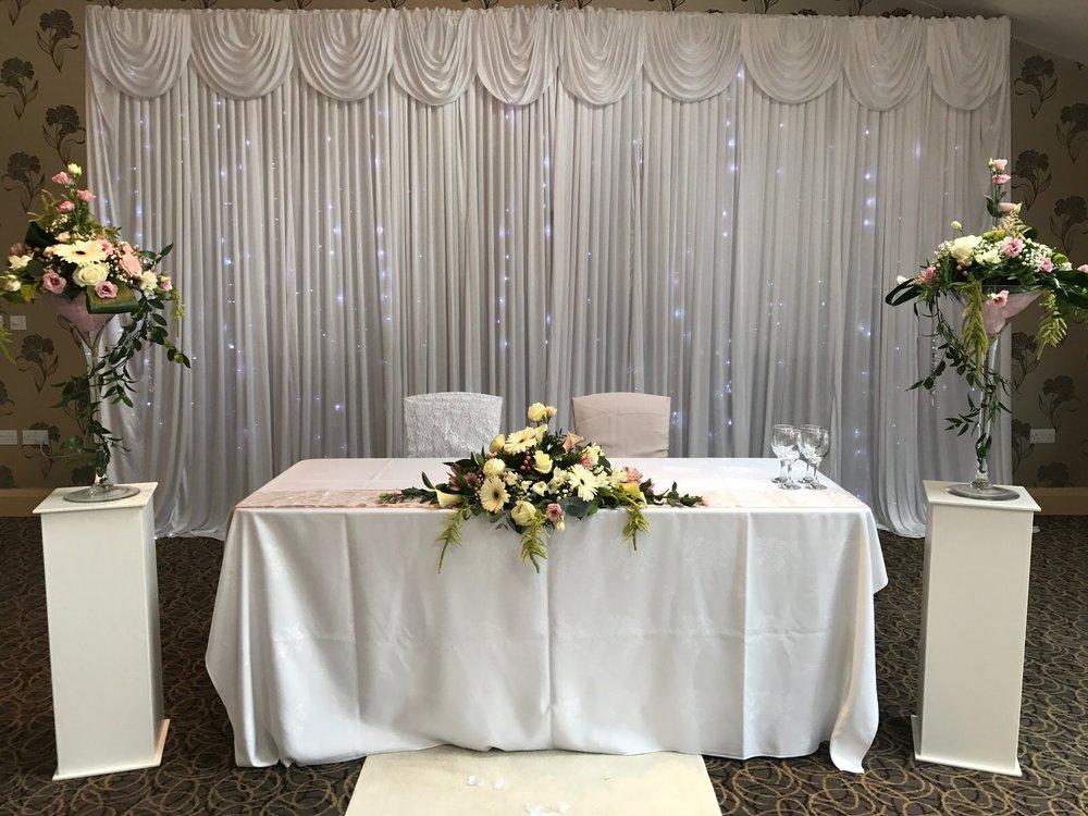 Copy of Civil ceremony table set