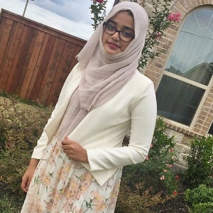 Jueria Mujeeb   National IT Manager     Undergraduate majoring in Neuroscience at the University of Texas at Dallas. Currently working to pursue a career as a physician...