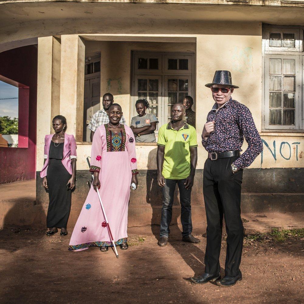 Team  SNUPA  photographed in Jinja, Uganda