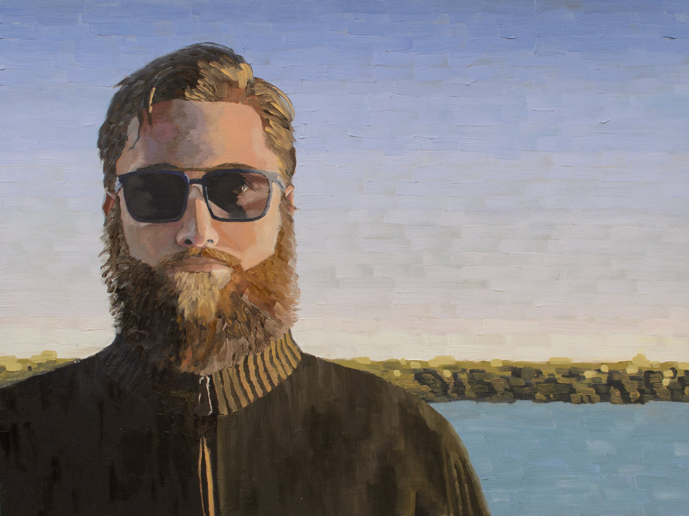 Self Portrait #2, 18x24, 2016