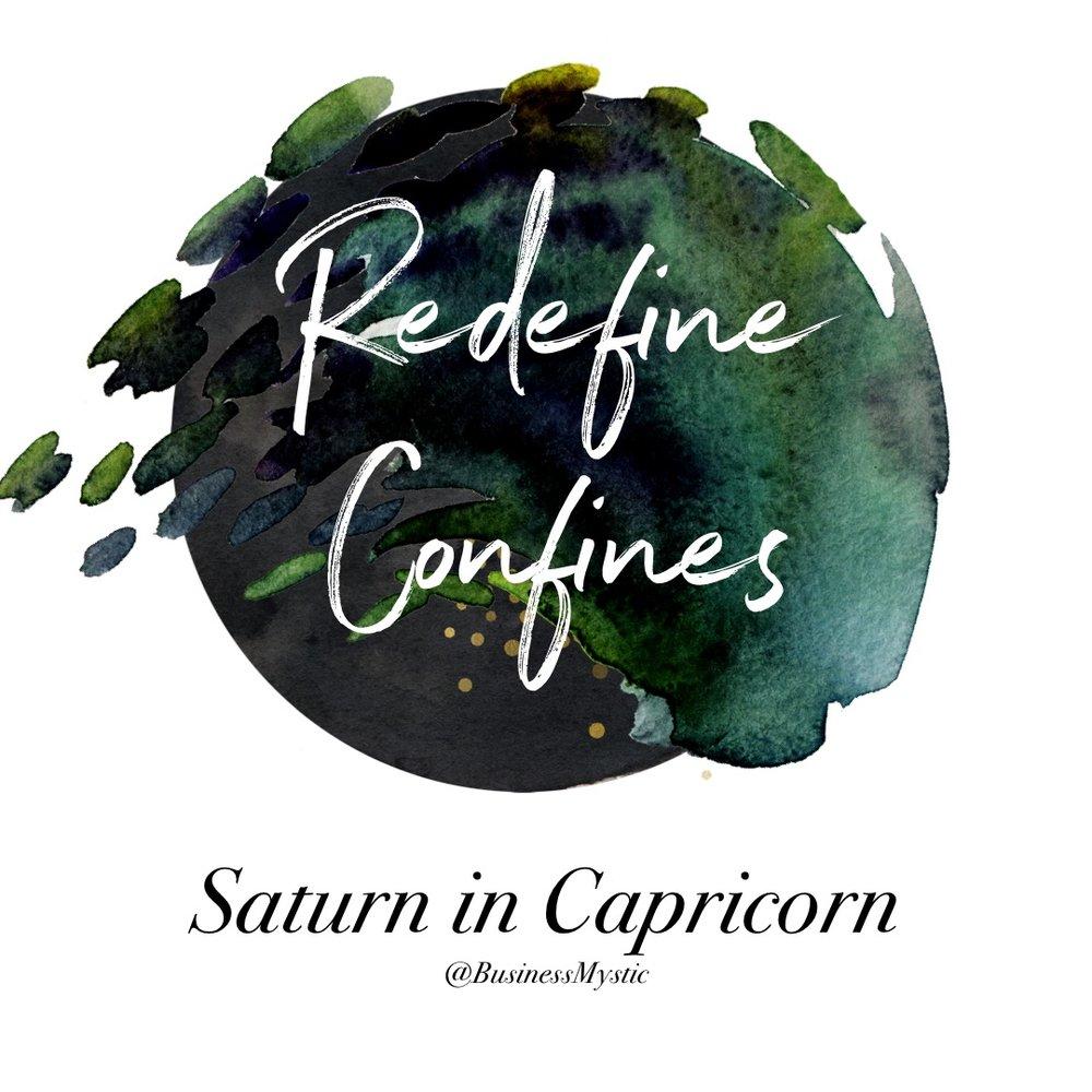 Saturn In Capricorn