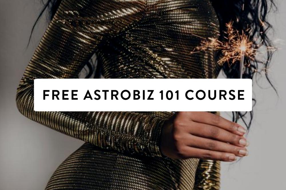 Free AstroBiz 101 Course