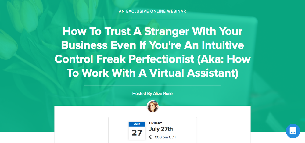 How To Work With A Virtual Assistant Webinar