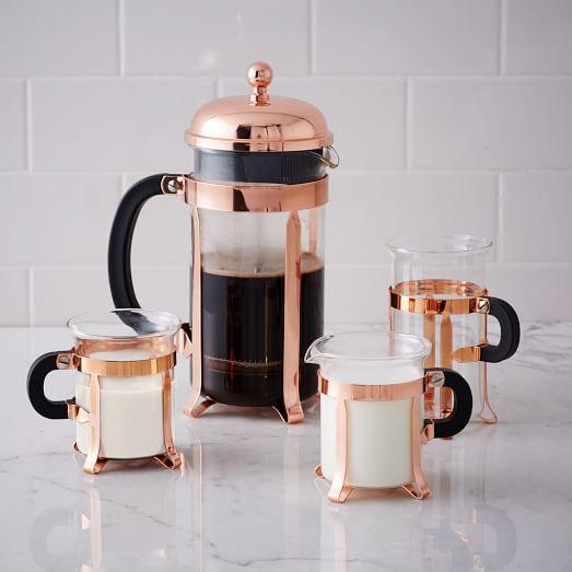 Copper French Coffee Press