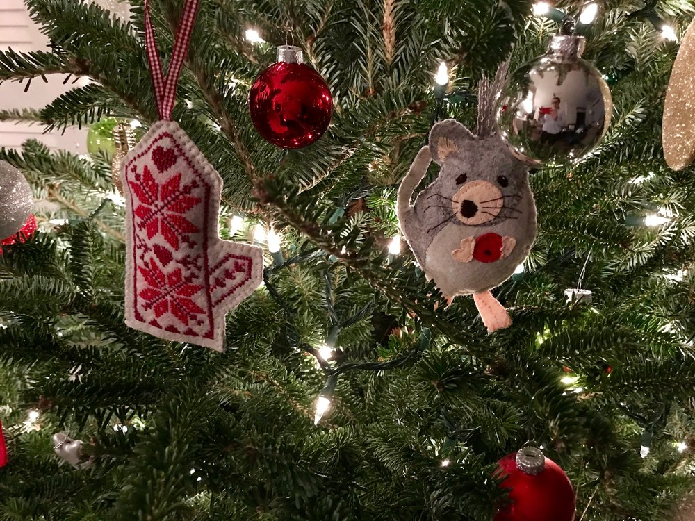 Alicia Paulson Christmas Ornaments
