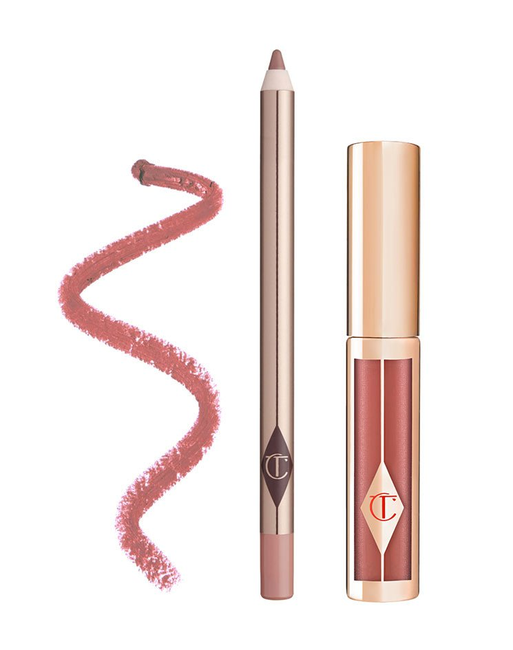 Charlotte Tilbury lip in pillow talk