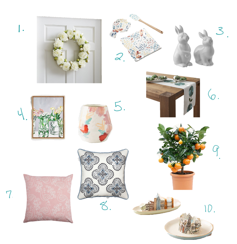 10 Spring Decor Ideas