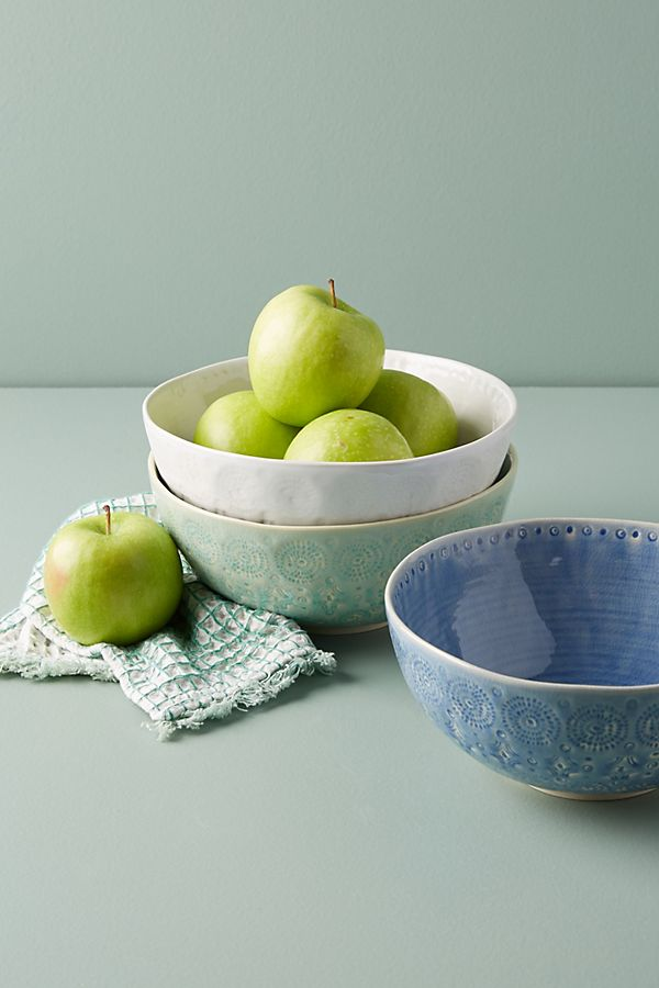 Anthropologie kitchen bowls
