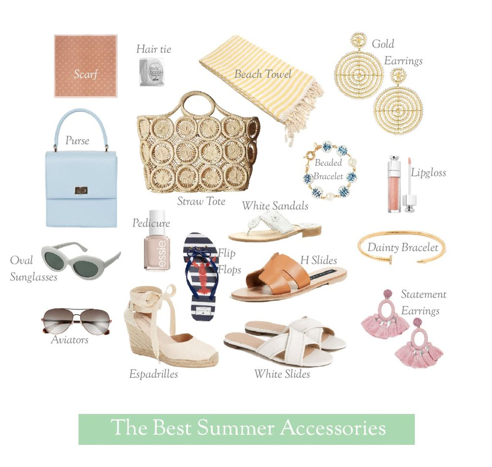 The Best Accessories for Summer