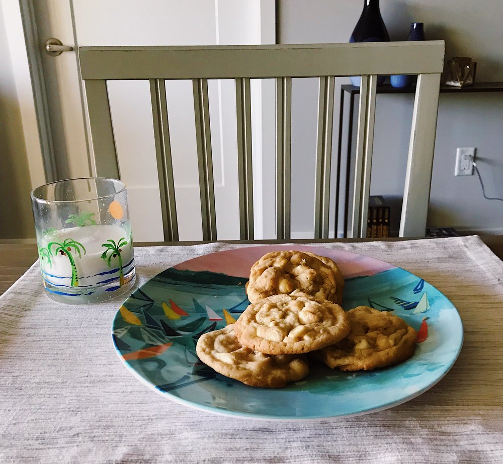 White Chocolate Chip Macadamia Cookie Recipe