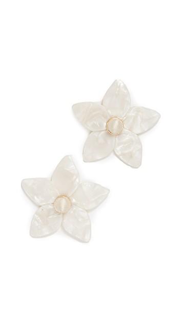 Bauble Bar Flower Earrings