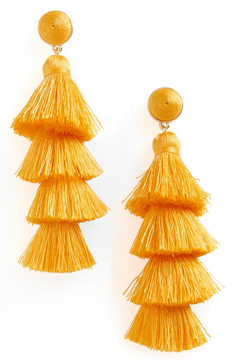 Gabriela Fringe Earrings