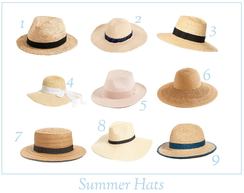 The Best Summer Hats