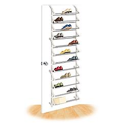Behind the Door Shoe Rack