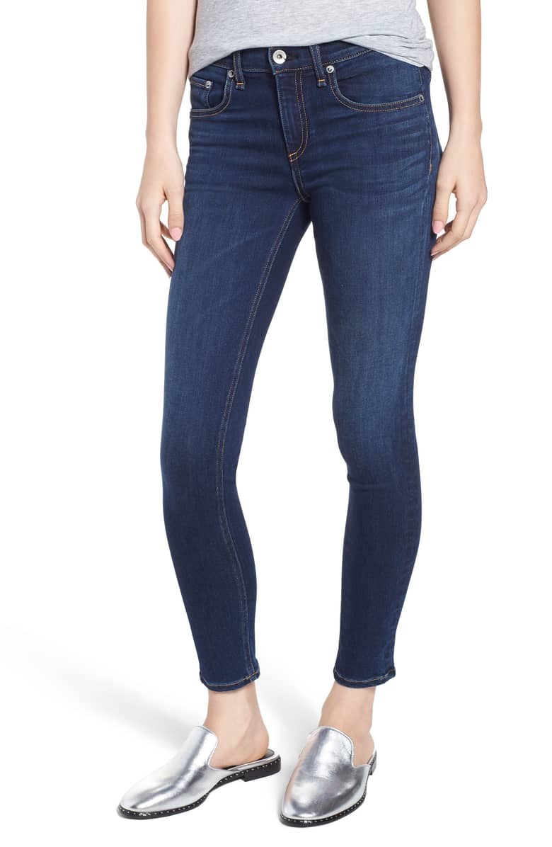 Rag and Bone Ankle Skinny Jeans