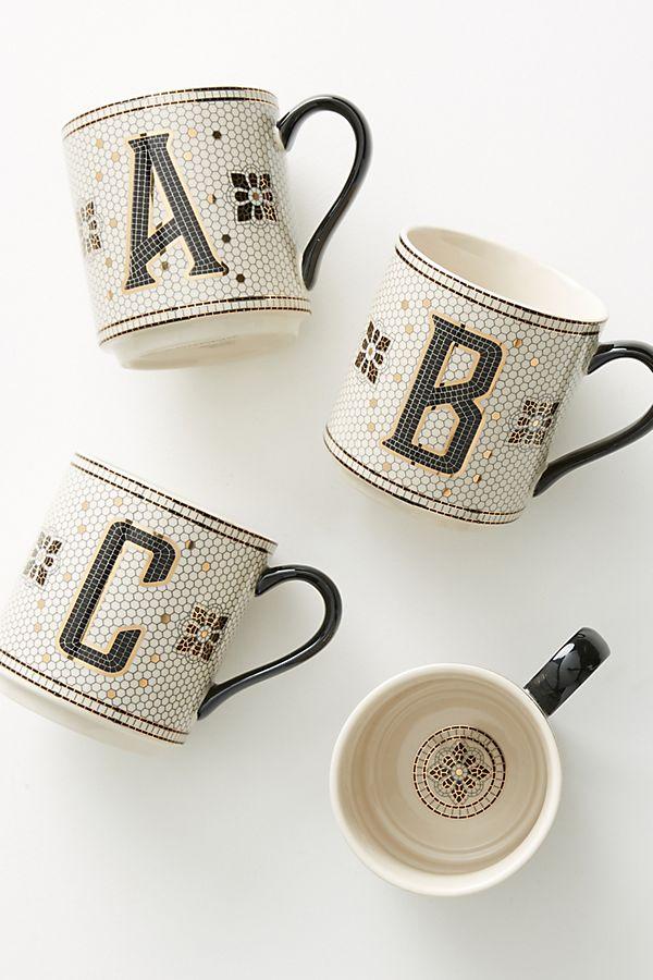 Anthropologie Tile Mug