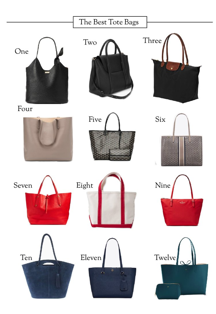 The Twelve Best Tote Bags — All That Glitters 38b5e166e4382