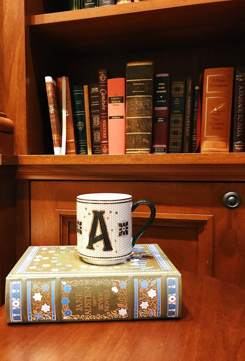 Anthropologie Tile Mug