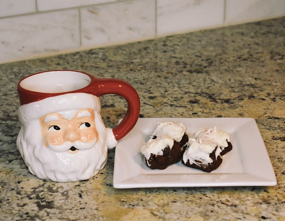 Triple Chocolate Peppermint Treats