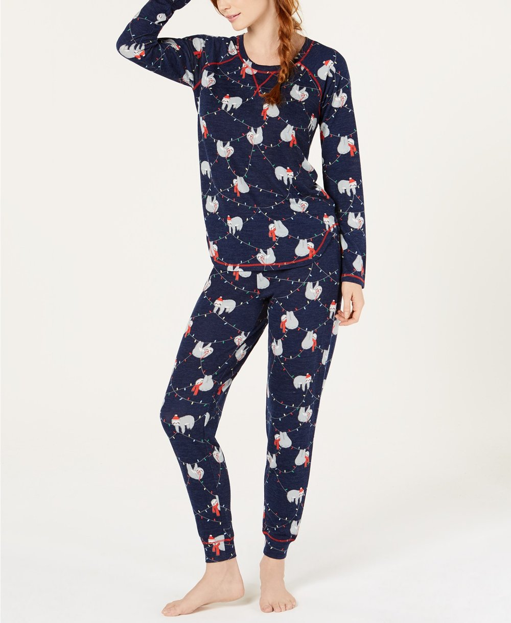 Macy's holiday pajamas