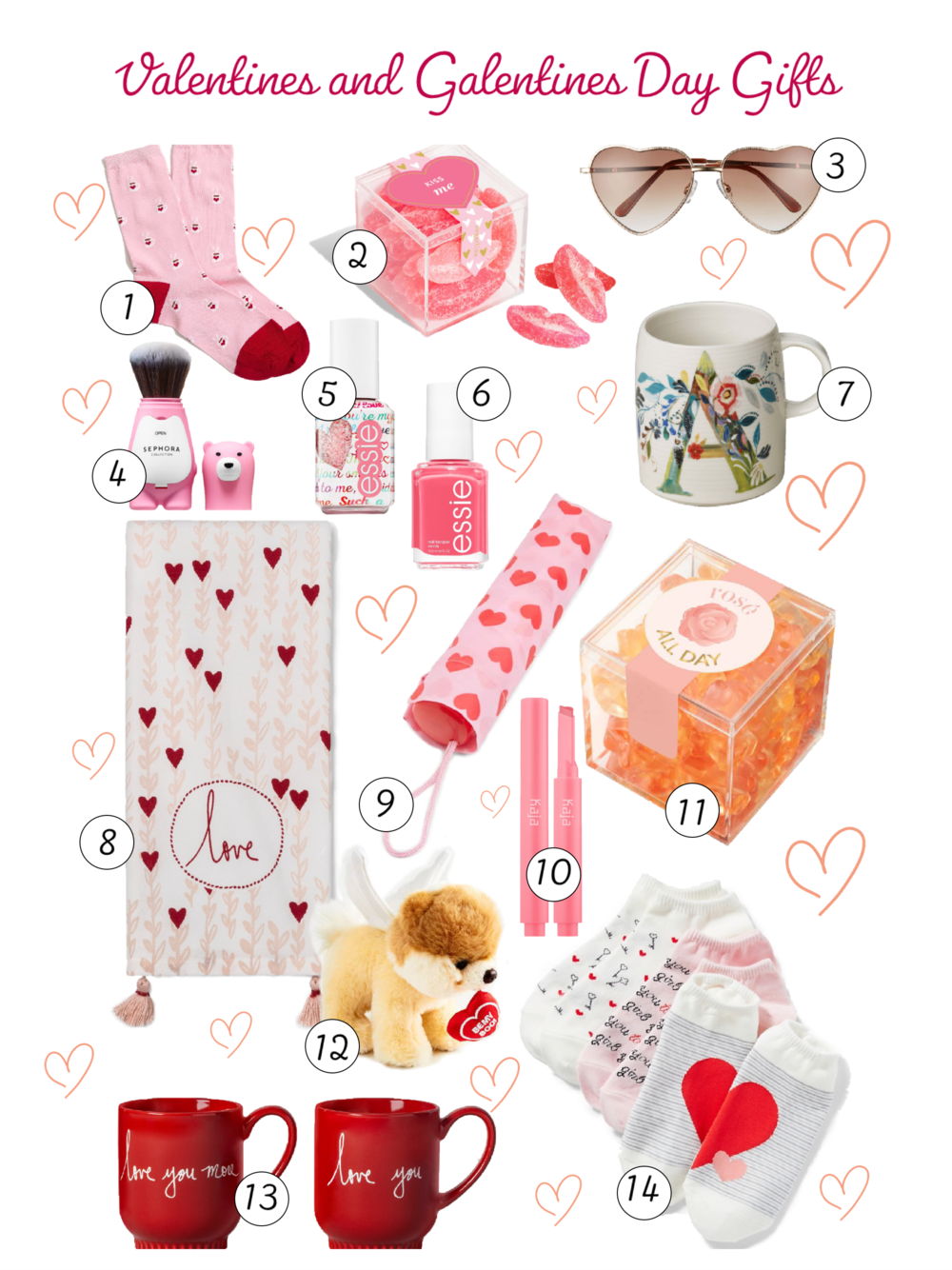 Valentines and Galentines Day Gifts