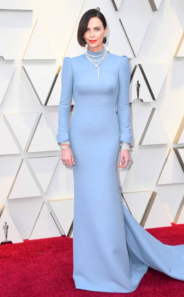Charlize Theron Oscars dress 2019
