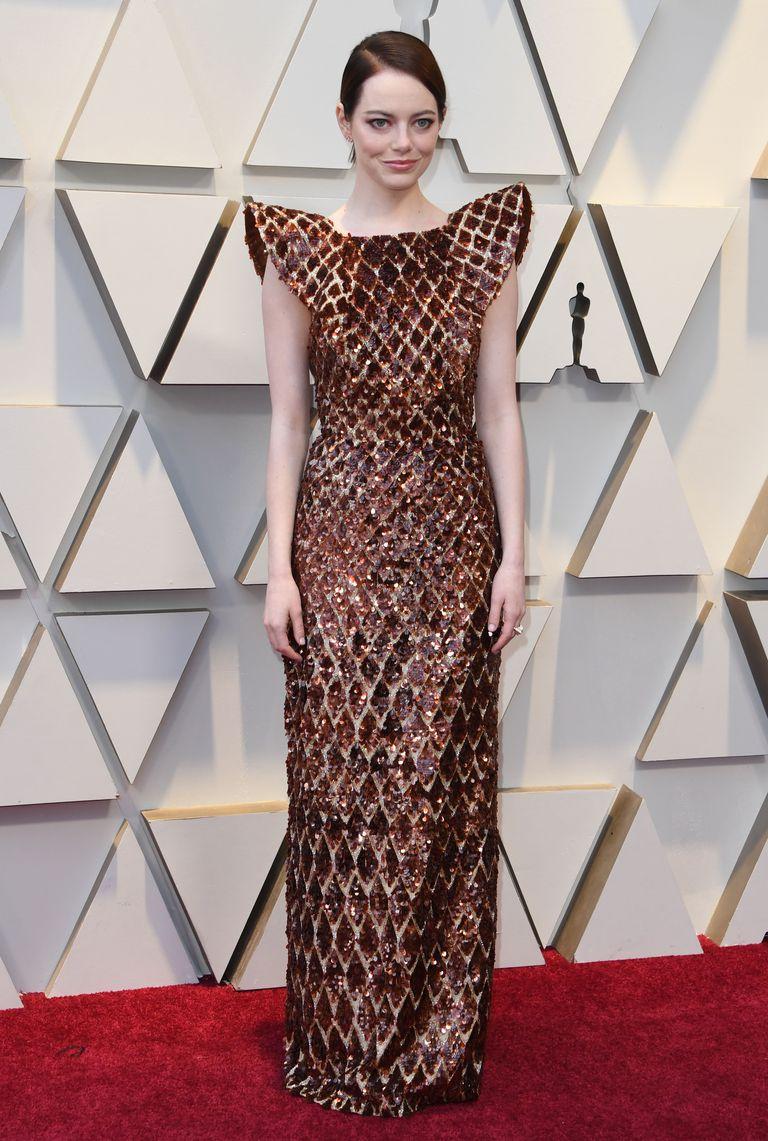 Emma Stone Oscars dress 2019