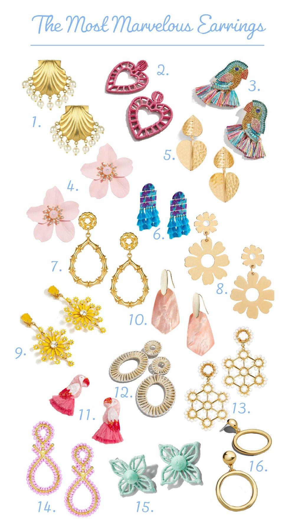 the most marvelous earrings