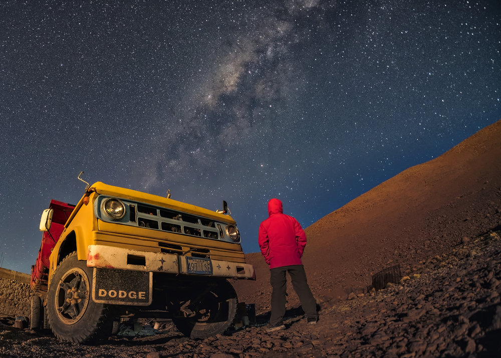 In Uyuni you'll have a 2 nights Astrophotography Workshop.