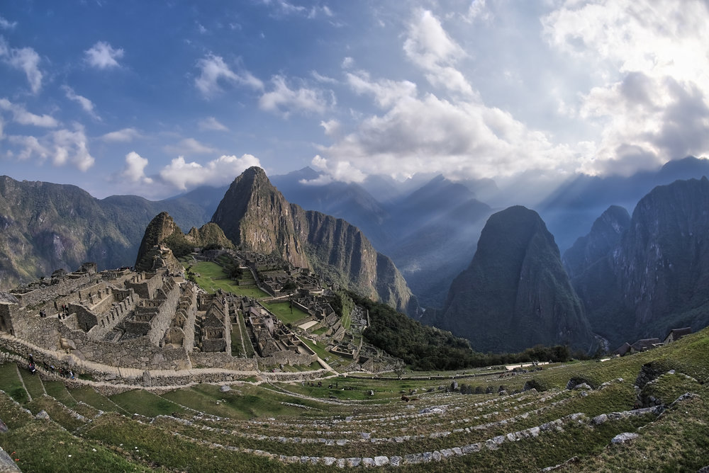 Macchu Picchu - the lost city of the incas. If you believe in energies, you'll feel something really special here!