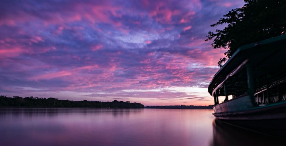 Amazon Photography sunset
