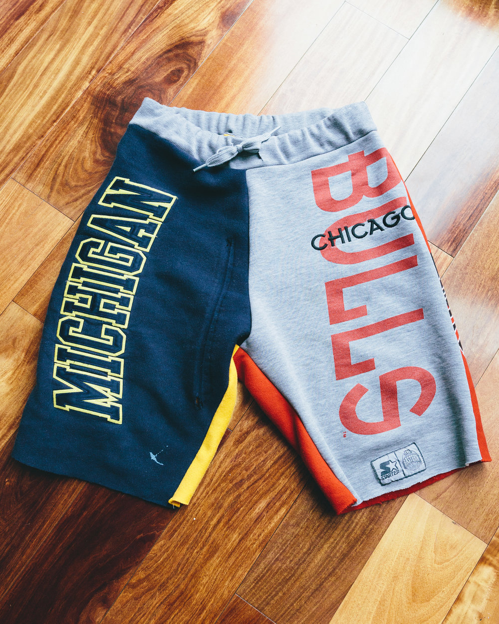 Michigan/Bulls Shorts - Midwest inspired by the States I've lived in.