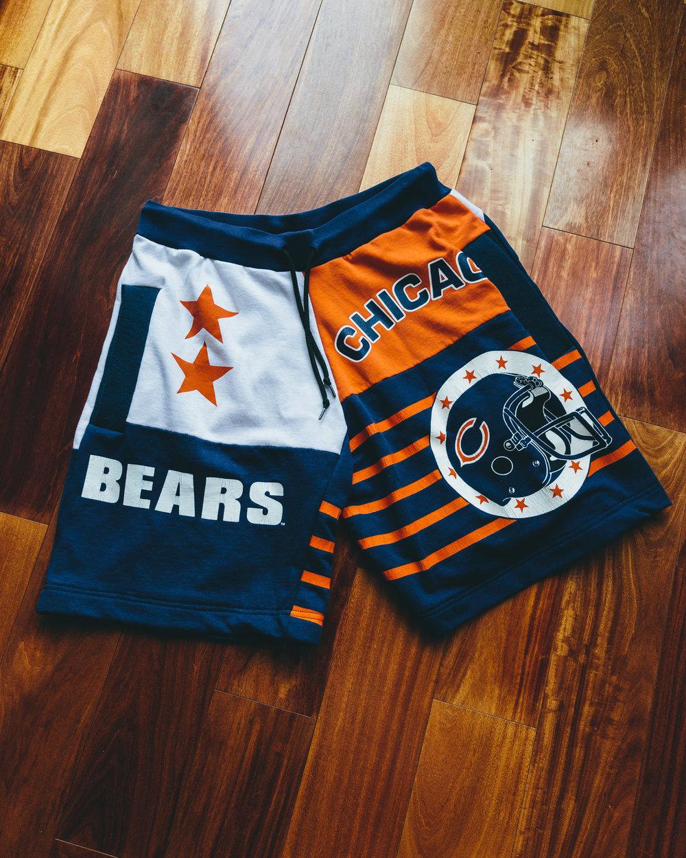 Bears Shorts - Made from vintage bears shorts