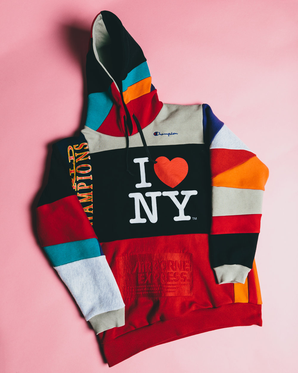 I Love NY Sweatshirt - A collage of various vintage sweatshirts for @sheilathedesigner.