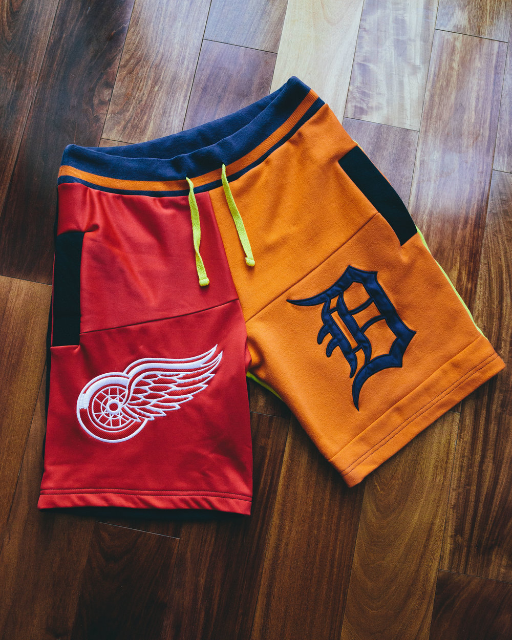 Detroit Shorts 2 - Detroit/Michigan themed, Tigers, Red Wings, Michigan, and Bad Boys.