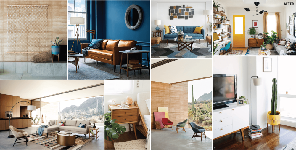 West Elm Is A Furniture Company That Sells Mid Century Inspired Furniture.