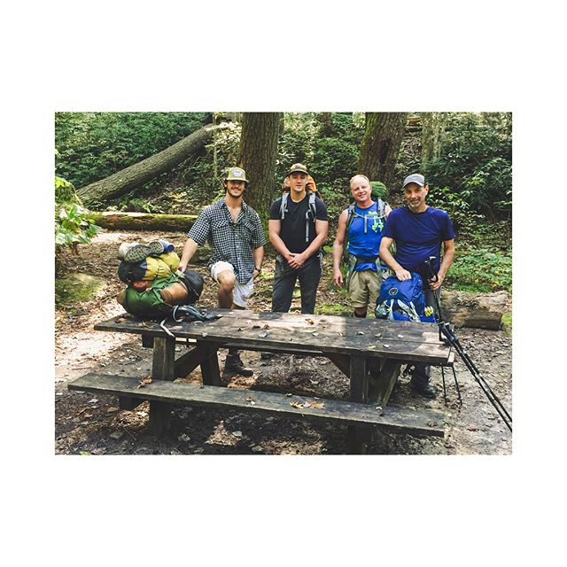 Roger & company are back from their foothills backpacking trip safe & sound! Be checking our website for more upcoming guided trips! • • • • • • #hiking #backpacking #camping #campinglife #nature #wanderlust #wander #explore #adventure #travel #hammock #hammockcamping