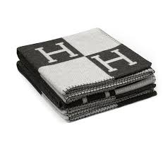 $1,525 Hermes Blanket: Because everyone who doesn't have one of these in their home most likely wants one 😜  #guilty!