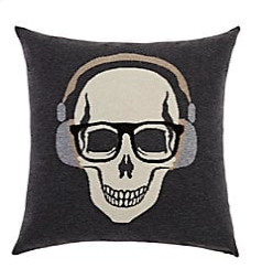 "$450 Cashmere Skull Headphones � This one would be the ""his"" to the ""her"" one with the crown"
